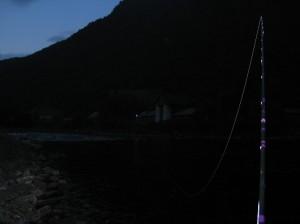 I Fjøshølen på jakt etter sjøørret