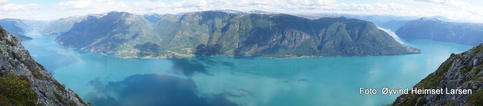 Fjordutsikt ved Molden sommaren 2012